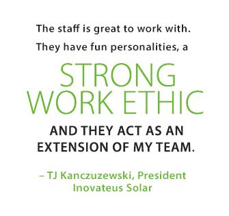TJ Kanczuzewski, Inovateus Solar