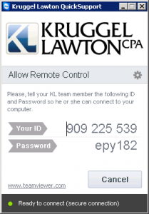 Kruggel Lawton QuickSupport Tool
