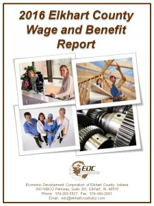 2016 Elkhart County Wage and Benefit Report cover