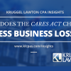 CARES Act Made Changes To Excess Business Losses