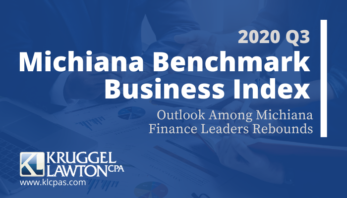 Quarterly survey finds Michiana CFOs' outlook improving after tough first two quarters of 2020. While encouraging, COVID19 continues to foster uncertainty in the local economy.