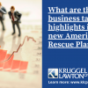 Business Highlights In The New American Rescue Plan Act