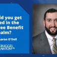 How did Senior Manager Aaron O'Dell get his start in Employee Benefit Plans?