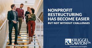 nonprofit restructuring